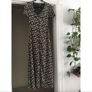 Floral Wrap Dress NWT